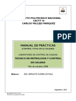 Manual de Control Total de Calidad