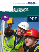 Con-qcf Requirements for Approved Centres