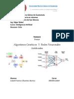 Algoritmos Genéticos  Y  Redes Neuronales Artificiales.pdf