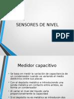 Sensores de Nivel