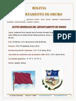 Oruro Bolivia Esp