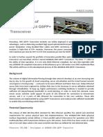 Development of 40GBASE-iSR4 QSFP+ Transceiver