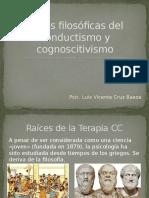 1.- Bases Filosóficas Del Conductismo y Cognoscitivismo