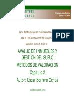 Metodos Valorizacion Borrero Oscar 2011 Presentacion