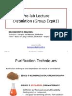 CHEM 212 - Distillation Lab