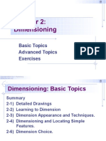 Chapter 2 - Dimensioning - EGE4