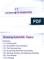 Chapter 1 - Drawing in AutoCAD 2016