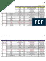 Jadual Penuh Perlawanan Liga Super 2016