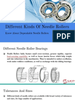 Know About Dependable Needle Rollers