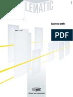 Acotec Walls Brochure