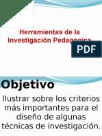 Herramientas de La Investigacion
