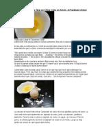 Así Se Hace Un Huevo Falso en China