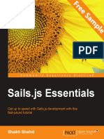 Sails.js Essentials - Sample Chapter