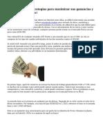 Forex Trading - estrategias para maximizar sus ganancias y minimizar su pierde!