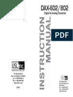DAX Manual 5-9-13