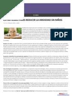 Ejercicios Para Niños Con Ansiedad 2