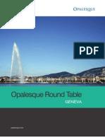 Opalesque Geneva Roundtable 2008