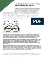 Médicos Especialistas En Ojos De Latinoamérica Y USA Se Asocian Para Combatir Enfermedades Oculares
