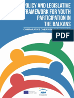 POLICY AND LEGISLATIVE FRAMEWORK FOR YOUTH PARTICIPATION IN THE BALKANS_comparative_study
