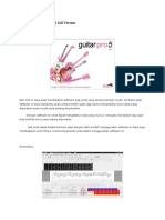 Software Guitar Pro 5