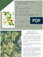Manual de Plantas y Algas Comestibles