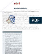 Anomalies in Income-tax Laws