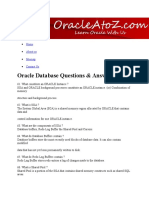 Oracle Database Questions & Answers 3