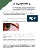 Televisores Capaces De Notar Síntomas De Ciertas Enfermedades Oculares En Cómo La Gente Los Mira