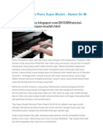 Tutorial Bermain Piano Super Mudah