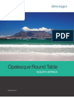 Opalesque South Africa Roundtable