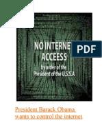 Obama COMMANDEERING Your Computers