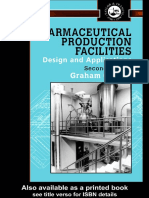 Pharmaceutical Production Facilities - Design and Applications 2nd ed - Graham C. Cole (Taylor & Francis, 1998).pdf