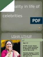 Spirituality in Life of Celebrities