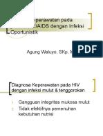 Asuhan Keperawatan Pada Pasien HIV- IO