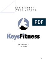 Treadmill Ironman Service Manual Rev. B