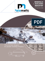 Building industry equipment Palamatic Process