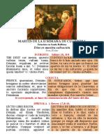 MARTES DE LA II SEMANA DE CUARESMA