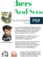 Summary and Anaysis of Fathers And Sons