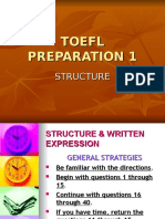 TOEFL Structure Skills Part1