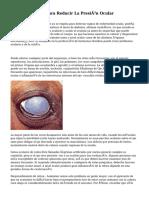 Consejos Útiles Para Reducir La Presión Ocular