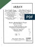 Arban I Trompeta