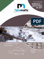 Industries Du BTP Palamatic Process