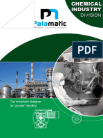 Chemical Industry solutions Palamatic Process
