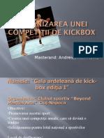 Organizarea Unei Competiţii de Kickbox