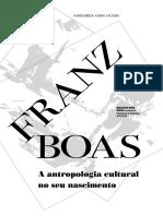 Antropologia Cultural No Seu Nascimento