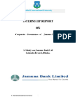 Intership Report in bank
