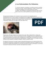 Afección Ocular En Las Enfermedades Por Helmintos