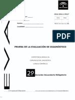 Evaluación de diagnóstico_Competencia lingüística_Andalucia 2008_2009