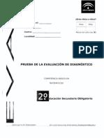 Evaluación diagnóstico_Competencia Matemática_Andalucía_2009