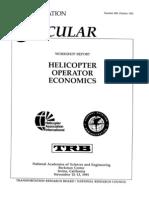 Helicopter Operator Economics